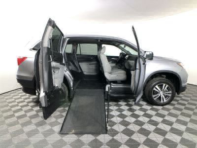Used Wheelchair Van for Sale - 2018 Honda Pilot EX-L w/Navi Wheelchair Accessible Van VIN: 5FNYF5H71JB019921