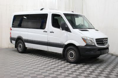 Commercial Wheelchair Vans for Sale - 2016 Mercedes-Benz Sprinter 2500 144 WB ADA Compliant Vehicle VIN: 8BRPE7DD4GE124127