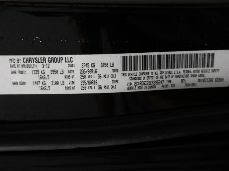 2012 Dodge Grand Caravan SXT Wheelchair Van For Sale #33
