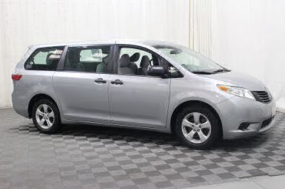 Commercial Wheelchair Vans for Sale - 2015 Toyota Sienna L ADA Compliant Vehicle VIN: 5TDZK3DC7FS579291