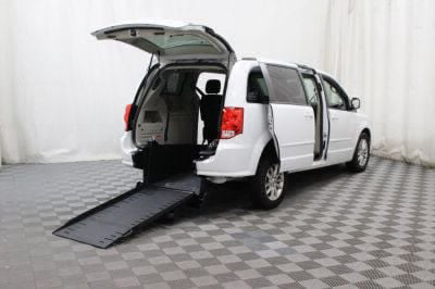 Commercial Wheelchair Vans for Sale - 2015 Dodge Grand Caravan SXT ADA Compliant Vehicle VIN: 2C4RDGCGXFR585200