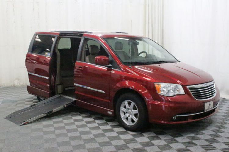 2012 Chrysler Town and Country Touring Wheelchair Van For Sale #1