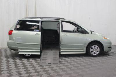 Used Wheelchair Van for Sale - 2010 Toyota Sienna LE Wheelchair Accessible Van VIN: 5TDKK4CC1AS296872