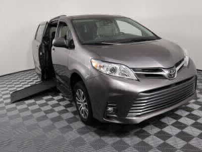 Commercial Wheelchair Vans for Sale - 2018 Toyota Sienna XLE ADA Compliant Vehicle VIN: 5TDYZ3DC6JS937139