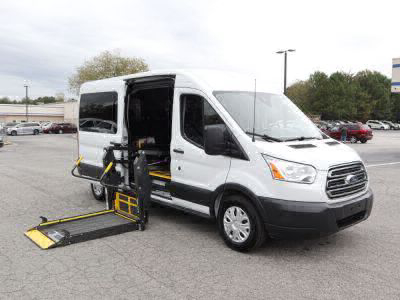 Commercial Wheelchair Vans for Sale - 2017 Ford Transit Passenger 350 XLT ADA Compliant Vehicle VIN: 1FBZX2CG9HKA86923