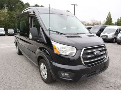 New Wheelchair Van for Sale - 2020 Ford Transit Passenger Mid-Roof 350 XLT - 15 Wheelchair Accessible Van VIN: 1FBAX2C84LKA15160