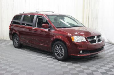Commercial Wheelchair Vans for Sale - 2017 Dodge Grand Caravan SXT ADA Compliant Vehicle VIN: 2C4RDGCG9HR863989