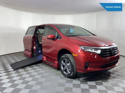New Wheelchair Van for Sale - 2022 Honda Odyssey EX Wheelchair Accessible Van VIN: 5FNRL6H50NB005662