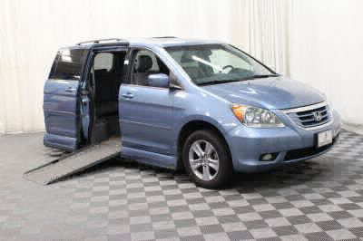 Used Wheelchair Van for Sale - 2010 Honda Odyssey Touring Wheelchair Accessible Van VIN: 5FNRL3H95AB097959