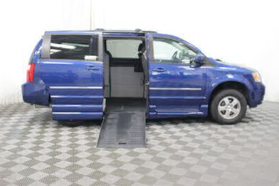 Handicap Van for Sale - 2010 Dodge Grand Caravan SXT Wheelchair Accessible Van VIN: 2D4RN5D19AR205058