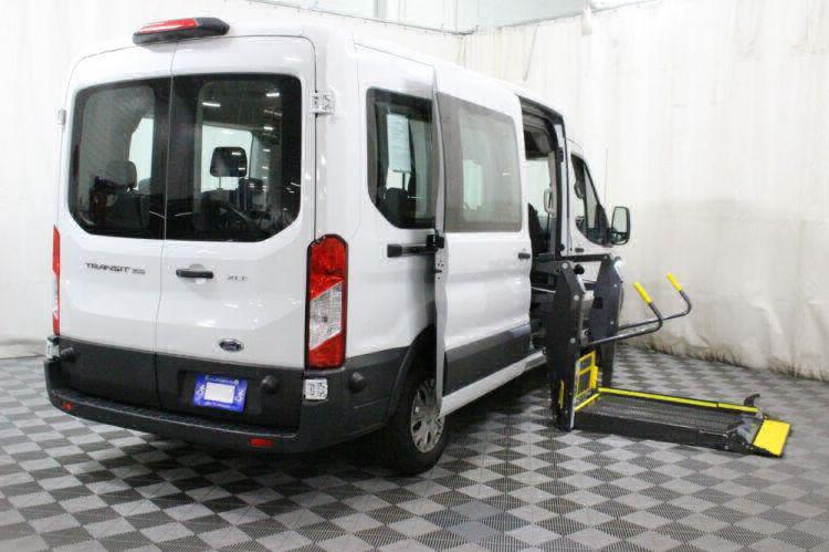 2018 Ford Transit Passenger 350 XLT Wheelchair Van For Sale #6