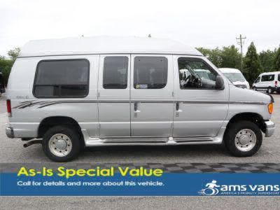 Used Wheelchair Van for Sale - 2004 Ford Econoline E250 E-250 SD Wheelchair Accessible Van VIN: 1FDNE24L94HB30126