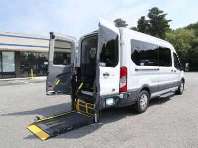 Commercial Wheelchair Vans for Sale - 2016 Ford Transit Passenger 350 XLT ADA Compliant Vehicle VIN: 1FBAX2CM6GKA74827
