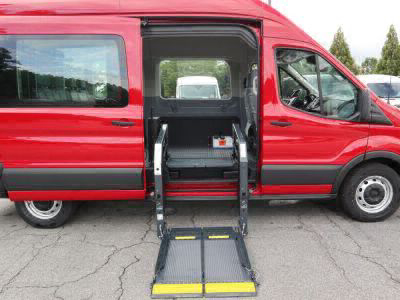 Commercial Wheelchair Vans for Sale - 2019 Ford Transit 350 ADA Compliant Vehicle VIN: 1FBZX2XM1KKB49102