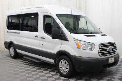 Commercial Wheelchair Vans for Sale - 2017 Ford Transit Passenger 350 XLT ADA Compliant Vehicle VIN: 1FBAX2CM8HKB00894