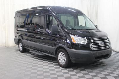 Commercial Wheelchair Vans for Sale - 2018 Ford Transit Passenger 350 XLT ADA Compliant Vehicle VIN: 1FBAX2CM0JKA43161