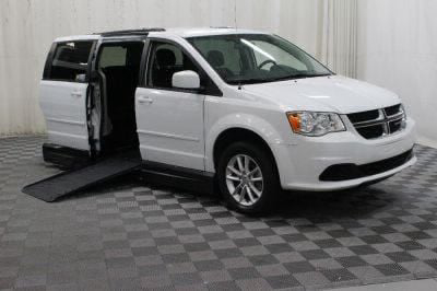 Handicap Van for Sale - 2016 Dodge Grand Caravan SXT Wheelchair Accessible Van VIN: 2C4RDGCGXGR380395