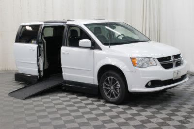 Handicap Van for Sale - 2017 Dodge Grand Caravan SXT Wheelchair Accessible Van VIN: 2C4RDGCG5HR735801