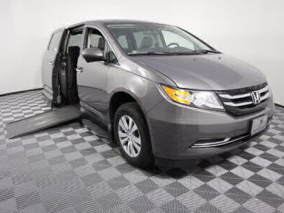 Used Wheelchair Van for Sale - 2014 Honda Odyssey EX-L Wheelchair Accessible Van VIN: 5FNRL5H60EB023548
