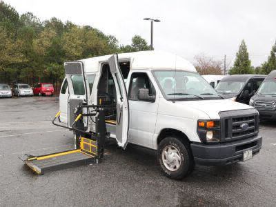 Commercial Wheelchair Vans for Sale - 2014 Ford E-Series Cargo E-250 ADA Compliant Vehicle VIN: 1FTNS2EW2EDA14314