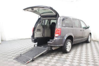 Commercial Wheelchair Vans for Sale - 2015 Dodge Grand Caravan SXT ADA Compliant Vehicle VIN: 2C4RDGCG5FR591745