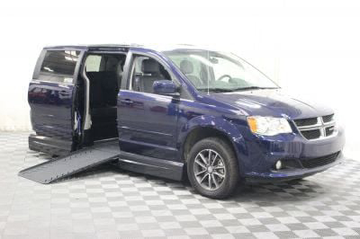 New Wheelchair Van for Sale - 2017 Dodge Grand Caravan SXT Wheelchair Accessible Van VIN: 2C4RDGCG1HR801504